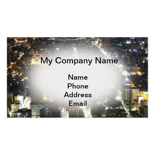 Architecture, Urban Planning and City Design Business Card Templates
