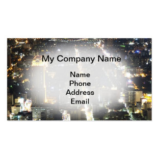 Architecture, Urban Planning and City Design Pack Of Standard Business Cards