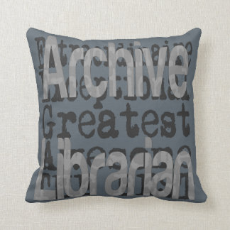 Archive Librarian Extraordinaire Cushion