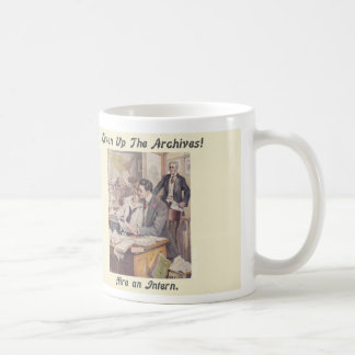 Archives Intern Mug