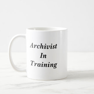 Archivist in Training Mug