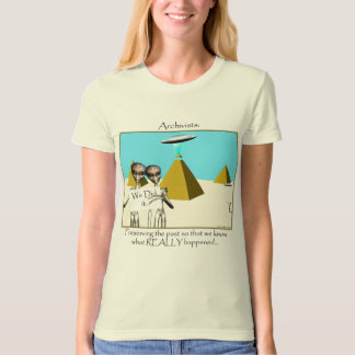 Archivists - Preserving the Past (Aliens) T-Shirt