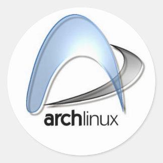 archlinux classic round sticker