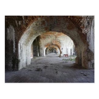 Archways Ft. Pickens, Florida Postcard