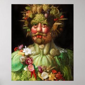 Arcimboldo Rudolf II Poster