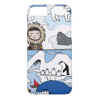 Arctic and Antarctic iPhone 7 Case