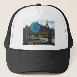 arctic circle, DALTON HIGHWAY ALASKA Trucker Hat