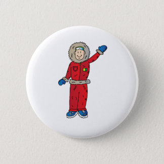Arctic explorer 6 cm round badge