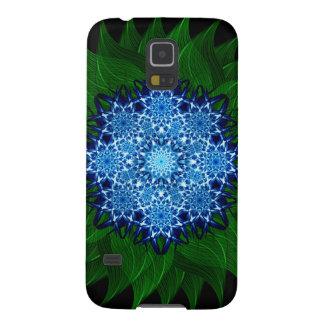 Arctic Flower Mandala Galaxy S5 Case