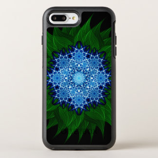Arctic Flower Mandala OtterBox Symmetry iPhone 7 Plus Case