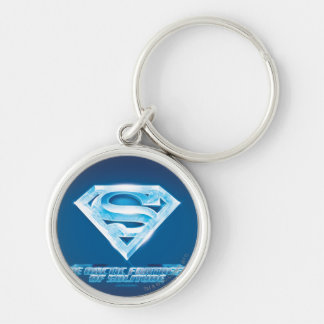 Arctic Fortress of Solitude Key Ring