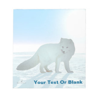 Arctic Fox Notepads