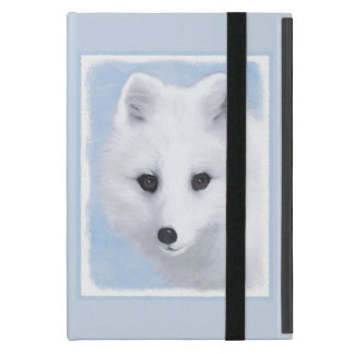 Arctic Fox Painting - Original Wildlife Art Cover For iPad Mini