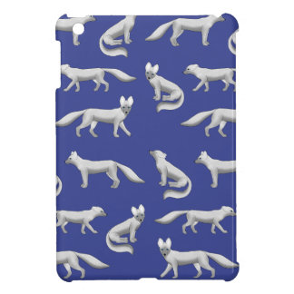 Arctic fox selection iPad mini case