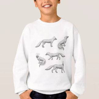 Arctic fox selection sweatshirt