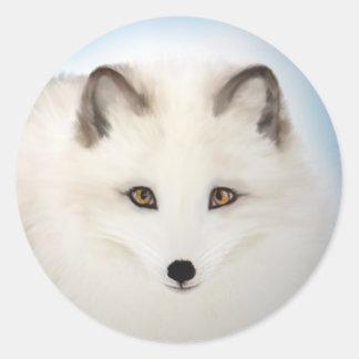 Arctic Fox Stickers