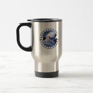 Arctic Fox Travel Mug