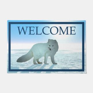 Arctic Fox - Welcome Doormat
