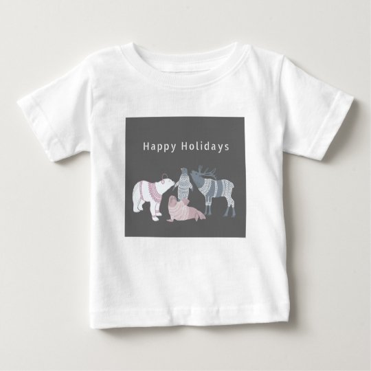 Arctic Friends Holidays Baby T-Shirt