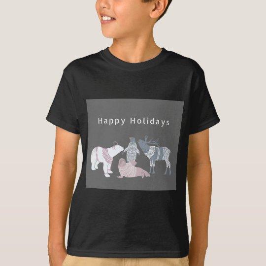 Arctic Friends Holidays T-Shirt