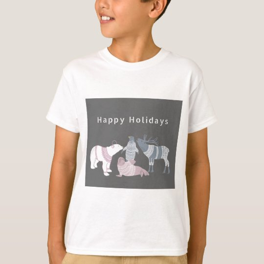 Arctic Friends Holidays T-Shirt