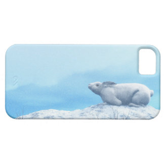 Arctic hare, lepus arcticus, or polar rabbit barely there iPhone 5 case