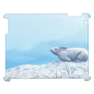 Arctic hare, lepus arcticus, or polar rabbit case for the iPad 2 3 4