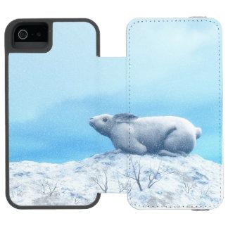 Arctic hare, lepus arcticus, or polar rabbit incipio watson™ iPhone 5 wallet case