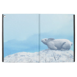"Arctic hare, lepus arcticus, or polar rabbit iPad pro 12.9"" case"