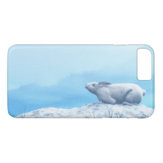Arctic hare, lepus arcticus, or polar rabbit iPhone 8 plus/7 plus case