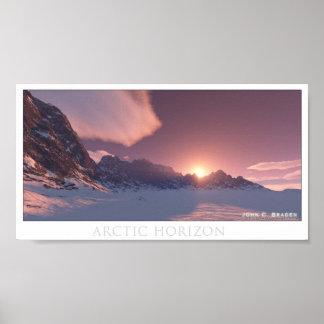 Arctic Horizon Poster
