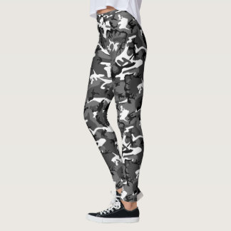Arctic Ice Camo Leggings