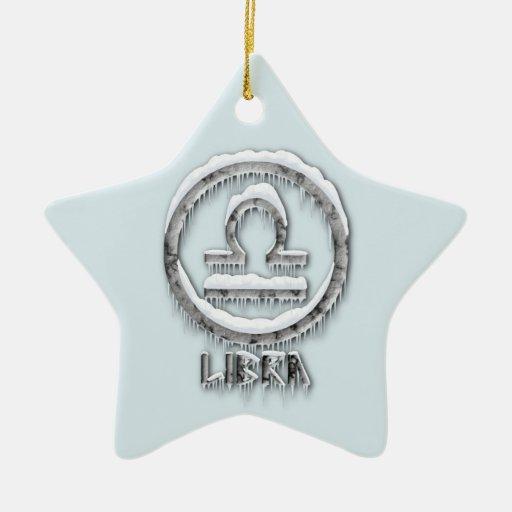 Arctic Libra Christmas Ornaments
