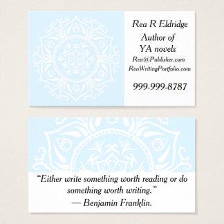 Arctic Mandala Business Card
