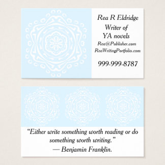 Arctic Mandala Business Card