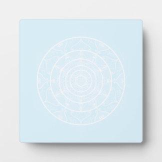 Arctic Mandala Plaque