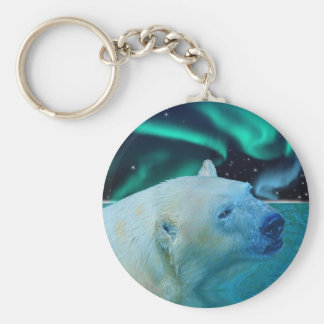 Arctic Polar Bear Wildlife Gift Key Ring