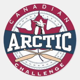 Arctic Revised Logo Classic Round Sticker