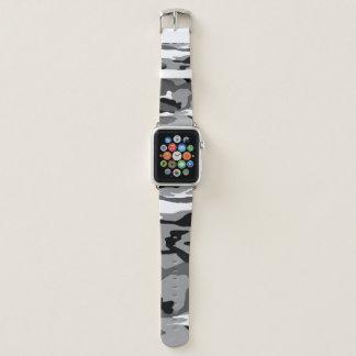 Arctic Snow Camo Apple Watch Band