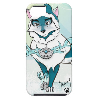 Arctic Spirit Wolf iPhone 5 Case
