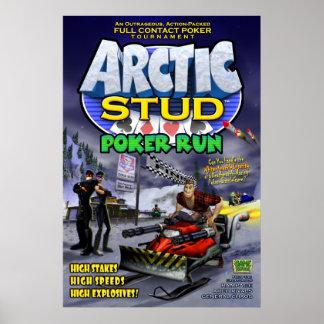 Arctic Stud Poker Run Poster