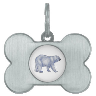 Arctic Survivor Pet ID Tag
