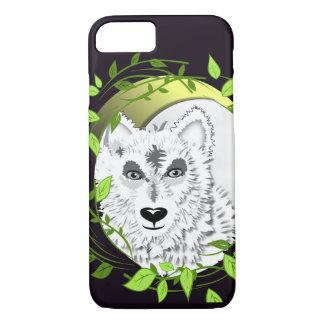 Arctic White Wolves Wild Animal Design iPhone 7 Case