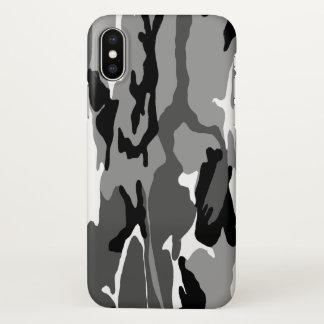 Arctic Winter Camo iPhone X Case