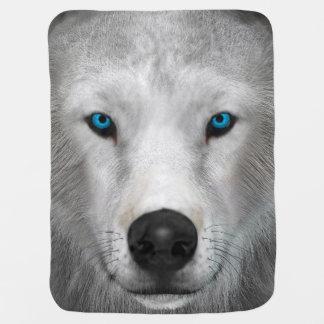 Arctic Wolf Buggy Blanket