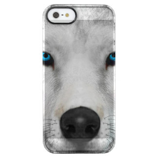 Arctic Wolf Clear iPhone SE/5/5s Case
