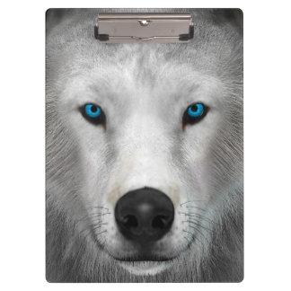Arctic Wolf Clipboard