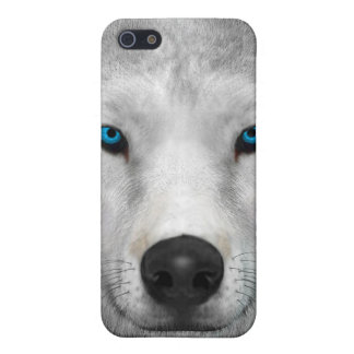 Arctic Wolf iPhone 5/5S Covers