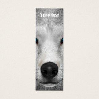 Arctic Wolf Mini Business Card