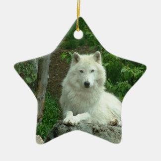 Arctic Wolf Ornament